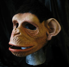Funny Monkey Ape Mask Moving Mouth Adult Chimp Chimpanzee Halloween Costume Mask