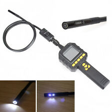 """2.3"""" Color Screen Dual Lens Endoscope Tube Inspection Cam DVR W/ Carrying Case"""