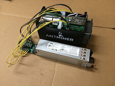 Antminer S5 with Power Supply BitCoin Miner BTC Mine Ready Hash ~1150 GH/s TH/s