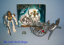 Rare Lego Bionicle 8596 TAKANUVA - Complete figure and vehicle with instructions