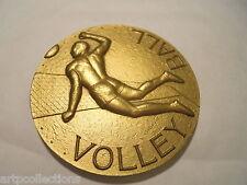 1958 MÉDAILLE BRONZE VOLLEYBALL GIBERT COUPE INTER FINANCES