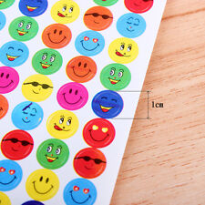10Pcs/Pack Children Smiley Faces Reward Stickers School Teacher Merit Praise HU