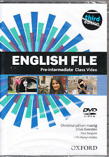 Oxford NEW ENGLISH FILE THIRD EDITION Pre-Intermediate Class Video DVD @NEW@