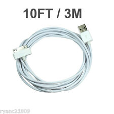 LONG 10FT USB Data CHARGING CABLE CORD for  iPhone 4 4S IPODS touch nano