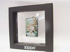 "Zippo ® Golden ""Anakonda"" Snake Limited Edition with frame box Neu/New OVP"