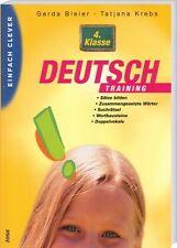 Einfach clever: DEUTSCH -Training für die 4.Klasse (tosa-Lernhilfe,Schülerhilfe)