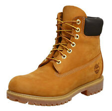 TIMBERLAND 6 INCH PREMIUM WATERPROOF BOOT. WHEAT NUBUCK, 14.5 UK, 50  EU, NEW