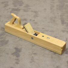 ULMIA HW1-60 JOINTER PLANE WITH 60MM DOUBLE IRON. WHITE BEECH SOLE. BRAND NEW