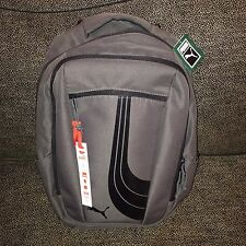 Gray Puma Stealth 2.0 Backpack / Laptop Bag - New With Tags - Retail $92.99