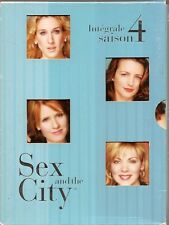COFFRET 3 DVD--SERIE TV--SEX AND THE CITY - INTEGRALE SAISON 4 - 18 EPISODES