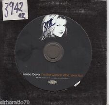RENEE GEYER I'm The Woman Who Loves You OZ CD single 1 Track PROMO