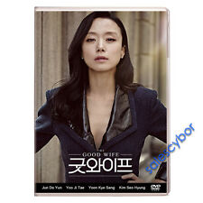 """BUY 5 GET 1 FREE"" The Good Wife Korean Drama (4DVDs) Excellent English!"