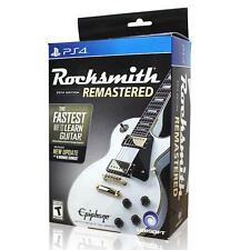 Rocksmith 2014 Edition Remastered (with Real Tone Cable) PS4 Game Brand New