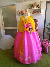 "Korean Traditional Dress Classic  HANBOK  - 36""chest _155 cm.tall"