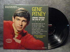 33 RPM LP Record Gene Pitney Looking Through The Eyes Of Love Musicor MM2069