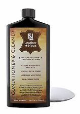 Leather Conditioner Cleaner Cars, Jackets, Handbags, Shoes Fragrance Free Liquid
