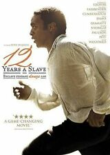 "12 Years a Slave (DVD, 2014, Canadian) ""A Game- Changing Movie."","