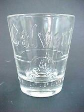 Vintage CALVERT RESERVE  A  WHISKEY Shot Glass  !!! AWESOME !!!