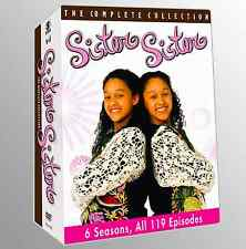 Sister Sister: Tia Tamara Mowry Complete TV Series Seasons 1-6 Boxed DVD Set NEW