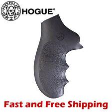 Hogue Grip Ruger SP101 5-Shot Revolver Soft Rubber Monogrip w/ Finger Grooves