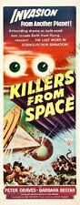 Killers From Space Movie Poster Insert #01 Replica