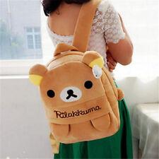 FD4396 Cartoon San-X Rilakkuma Relax Bear Cartoon Backpack Bag School Bag Gift♫