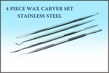 4 PIECE STAINLESS STEEL WAX CARVER SET - EXCELLENT QUALITY BRAND NEW