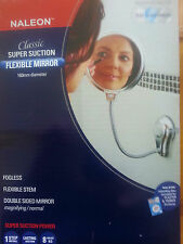Flexible mirror double sided fogless, manifying, normal  stainless steel