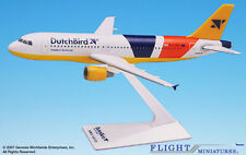 Flight Miniatures Dutchbird Airlines Airbus A320-200 1:200 Scale Mint RETIRED