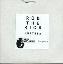 (AF92) Rob The Rich, Better - DJ CD