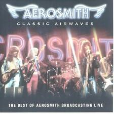 CD album AEROSMITH - CLASSIC AIRWAVES - BEST OF BROADCASTING LIVE + BONUSTRACKS