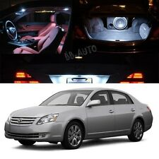 For 05-12 Toyota Avalon Interior Xenon White LED Light Lamp Bulbs Package Kit