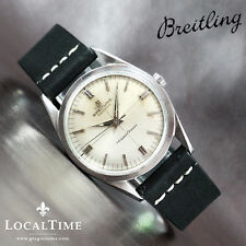 1958 BREITLING Transocean Ref. B125 Vintage Dress Watch Automatic ETA Cal. 2365