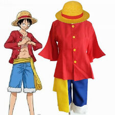 ONE PIECE 2nd generation Monkey D Luffy ONE Cosplay Costume After 2 years XL