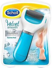 ✅Scholl Velvet Smooth Express Pedi Diamond Crystals Hornhautentferner, ORIGINAL✅