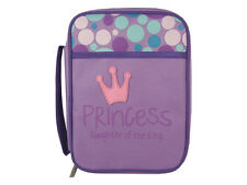 "MEDIUM SIZE PURPLE BIBLE COVER ""PRINCESS"""