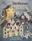 ASN Bird House Tissue Box Covers plastic canvas pattern book - 1996
