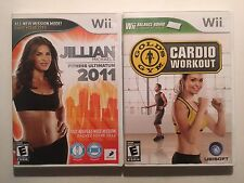 Nintendo Wii Fitness Game Lot Cardio Workout Fitness Ultimatum Complete