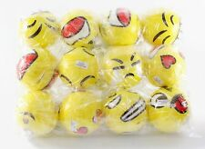 12 Big Happy Face Hand Wrist Finger Exercise Stress Relief Therapy Squeeze Balls