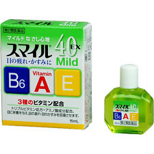 Lion Japan Smile 40EX Mild Eye drops 15ml