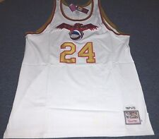 MITCHELL & NESS ABA PITTSBURGH CONDORS MIKE LEWIS JERSEY SIZE 56