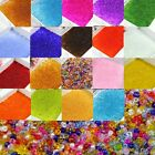 2000 Pcs Colorful Round Czech Glass Spacer Loose Beads Jewelry Findings 2 mm