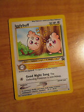 NM IGGLYBUFF Pokemon PROMO Card #36 Rare Black Star Set Wizard of the Coast TCG