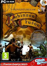 ADVENTURES OF ROBINSON CRUSOE. BRAND NEW RETAIL SEALED. SHIPS FAST / SHIPS FREE!