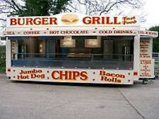 22 ft. Brand New Mobile Catering Trailer for Sale / Showmans Range TYPE APPROVED