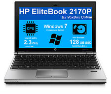 HP LAPTOP ELITEBOOK 2170P i5 2.3Ghz 4GB WINDOWS 7 PROFESSIONAL PC