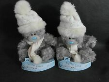 """2 NEW  """"WITH LOVE""""  ME TO YOU TATTY TEDDY BEAR PLUSH TOY RRP £6.99 EACH"""