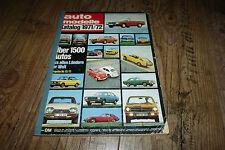 Auto Modelle Katalog 1971/1972 Triumph,Rover,Porsche,Mersedes usw