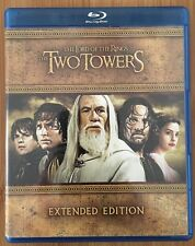 Lord Of The Rings: The Two Towers Extended Edition (Blu-ray) 5 Discs