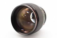 Canon New FD NFD 85mm f/1.2 L MF Lens for FD Mount EXC++  from japan 83996